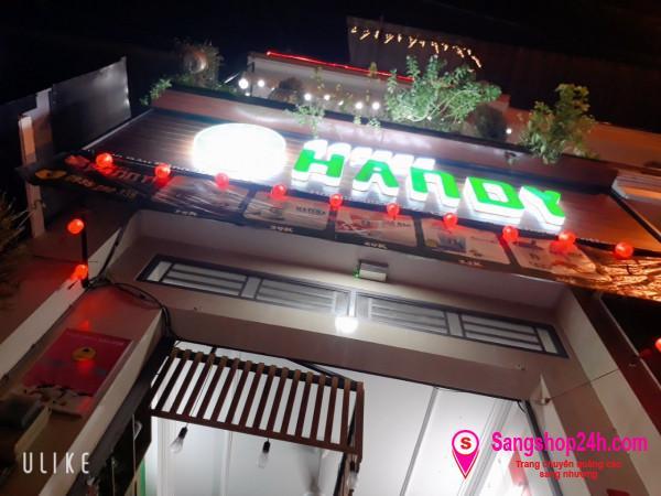 Sang nhanh quán Cà phê - Trà sữa máy lạnh và sân thượng số 10 Bàu Bàng, Phường 13, quận Tân Bình.