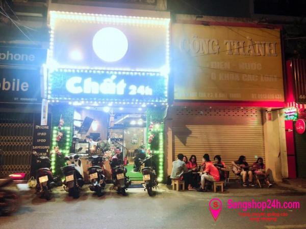 Sang nhanh quán trà sữa mặt tiền đường, khu dân cư đông, tập trung nhiều sinh viên, trung tâm quận Bình Thạnh.