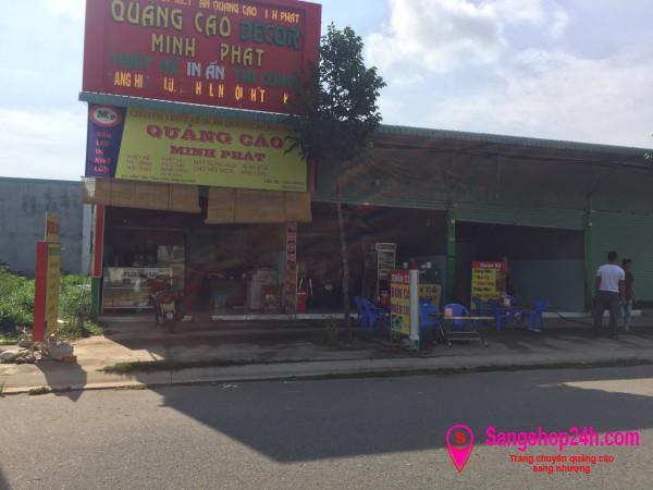 Sang tiệm photocopy mặt tiền đường lớn 2 chiều, gần khu công công nghiệp, dân cư, công nhân đông đúc.