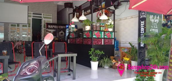 Sang quán cafe mặt tiền đường Man Thiện, phường Tăng Nhơn Phú A, quận 9.