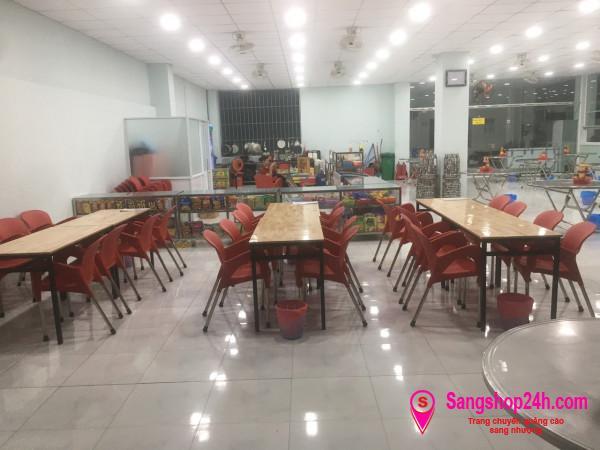 Sang nhượng căn tin hơn 600 học sinh tại trường Quốc Tế Nam Việt - 599 Lê Văn Thọ, phường 14, quận Gò Vấp.